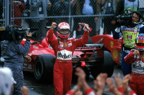 Michael Schumacher(GER) Ferrari F1 2000, 1st place