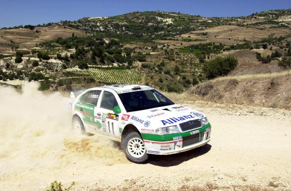 2001 World Rally ChampionshipCyprus Rally June 1-3, 2001Armin Schwarz on Stage 2Photo: Ralph Hardwick/LAT