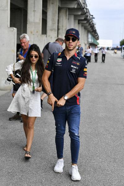 Pierre Gasly, Red Bull Racing arrives Caterina Masetti Zannini
