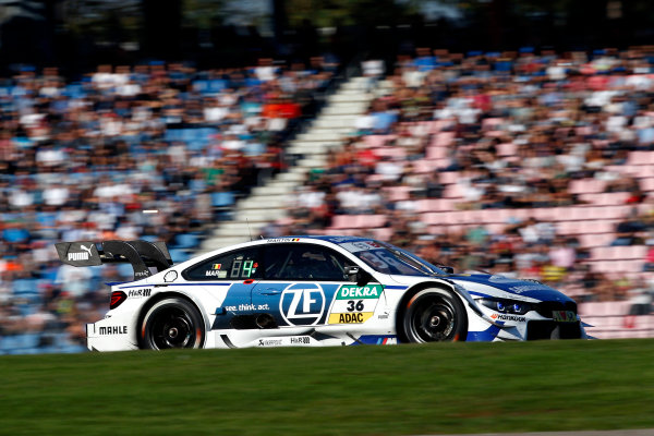 2017 DTM Round 9  Hockenheimring, Germany  Sunday 15 October 2017. Maxime Martin, BMW Team RBM, BMW M4 DTM  World Copyright: Alexander Trienitz/LAT Images ref: Digital Image 2017-DTM-HH2-AT3-2389