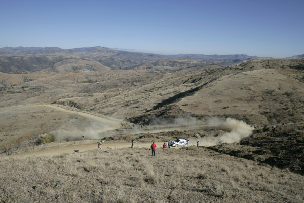 2005 FIA World Rally Champs. Round threeRally Mexico.10th - 13th March 2005.Toni Gardemeister, Ford, action.World Copyright: McKlein/LAT
