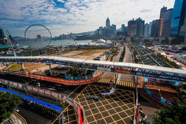 2017/2018 FIA Formula E Championship. Round 1 - Hong Kong, China. Saturday 02 December 2017. Nelson Piquet Jr. (BRA), Panasonic Jaguar Racing, Jaguar I-Type II. Photo: Alastair Staley/LAT/Formula E ref: Digital Image _ALS5637