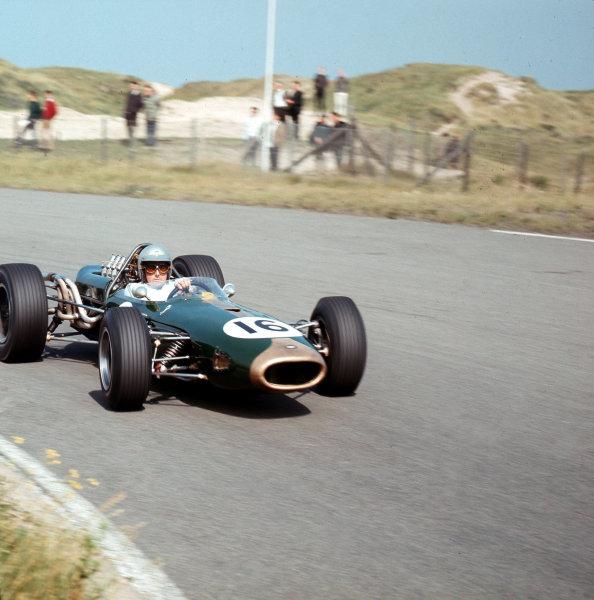 Zandvoort, Holland.22-24 July 1966.Jack Brabham (Brabham BT19 Repco) 1st position.Ref-3/2217B.World Copyright - LAT Photographic