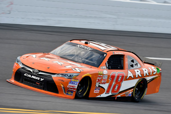 20-21 February, 2015, Daytona Beach, Florida USA Daniel Suarez, Arris Toyota Camry ? 2015, Nigel Kinrade LAT Photo USA