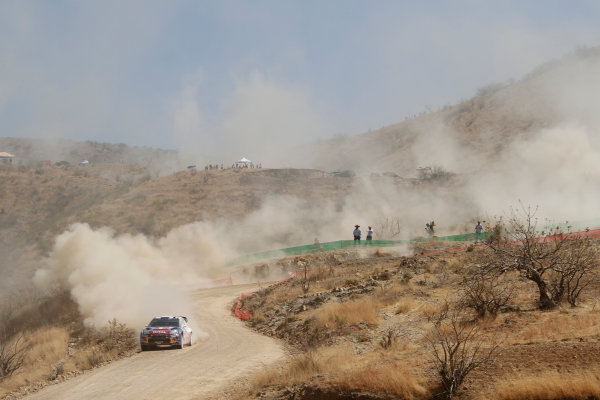 Round 2, Rally of Mexico, 3rd-6th March 2011Sebastien Ogier, Julien Ingrassia, Citroen DS3 WRC, Action, Worldwide Copyright: McKlein/LAT