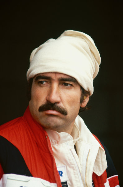 Clay Regazzoni (Willaims FW07-Ford), portrait.  World Copyright: LAT Photographic. Ref:  79CR 01