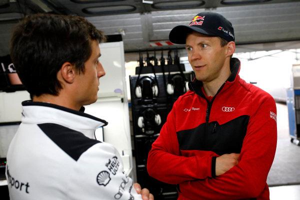 Bruno Spengler, BMW Team RBM, Mattias Ekström, Audi Sport Team Abt Sportsline.