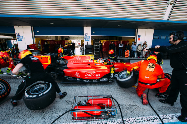 2016 GP2 Series Testing. Jerez, Spain. Thursday 31 March 2016 Norman Nato (FRA) Racing Engineering  World Copyright: Malcolm Griffiths/LAT Photographic. ref: Digital Image F80P9418