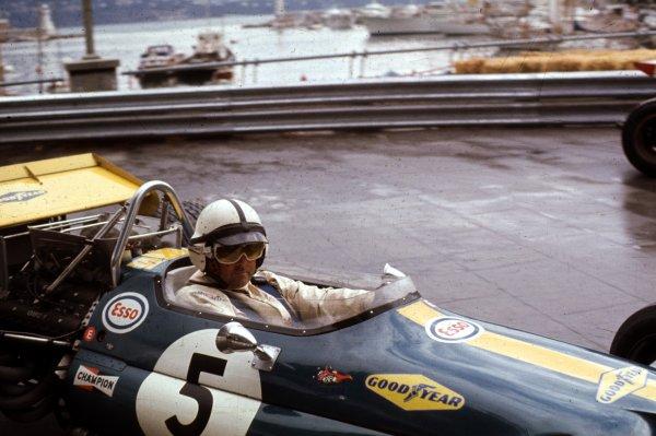 1970 Monaco Grand Prix.Monte Carlo, Monaco.7-10 May 1970.Jack Brabham (Brabham BT33 Ford) 2nd position.World Copyright - LAT Photographic