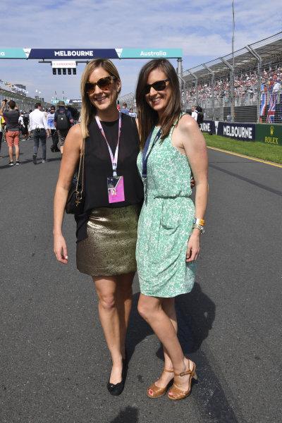 Natalie Schenken (AUS) on the grid at Formula One World Championship, Rd1, Australian Grand Prix, Race, Albert Park, Melbourne, Australia, Sunday 26 March 2017.