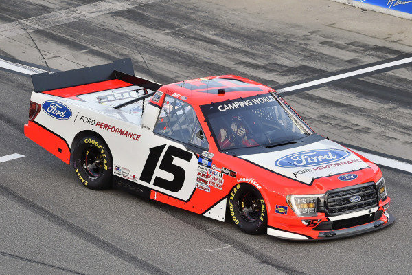 #15: Tanner Gray, Team DGR, Ford F-150 Ford Performance