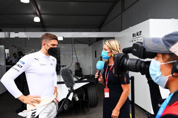 Edoardo Mortara (CHE), Venturi Racing, is interviewed