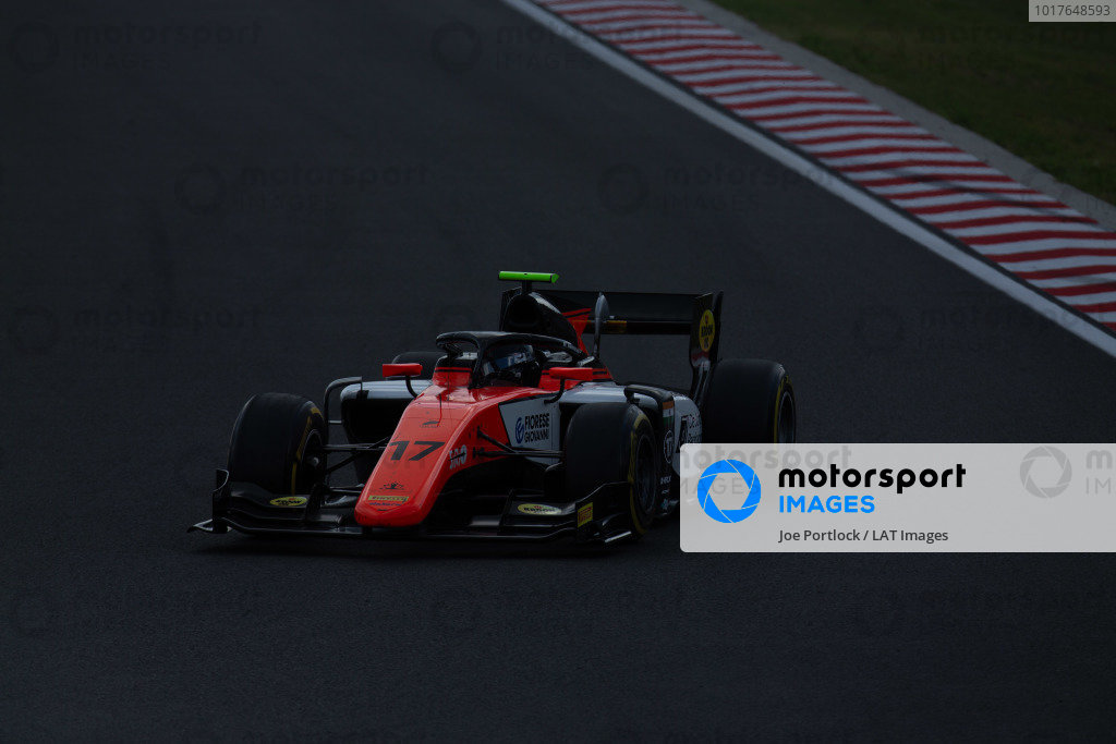 HUNGARORING, HUNGARY - AUGUST 04: Mahaveer Raghunathan (IND, MP MOTORSPORT) during the Hungaroring at Hungaroring on August 04, 2019 in Hungaroring, Hungary. (Photo by Joe Portlock / LAT Images / FIA F2 Championship)