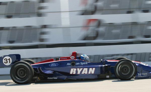 2003 ChampCar St Petersburg, 21-23 February, 2003, St. Petersburg, Florida.Ryan Hunter-Reay-2003, Michael L. Levitt, USALAT Photographic