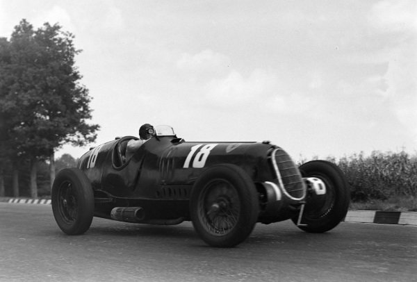 Tazio Nuvolari, Alfa Romeo 12C-36.