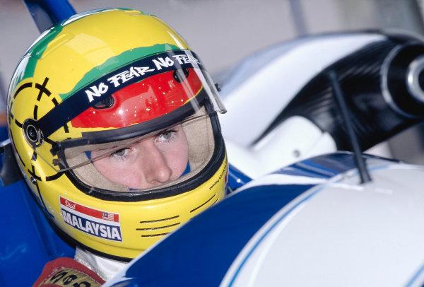 1996 British Formula Three ChampionshipSilverstone, England.Ralph Firman (Paul Stewart Racing).World Copyright: LAT Photographic