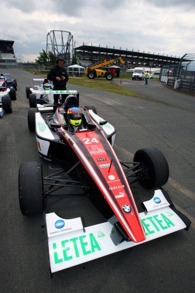 Doru Sechelariu (ROM) FMSI. Formula BMW Europe, Rd 4, Nurburgring, Germany, 10-12 July 2009.