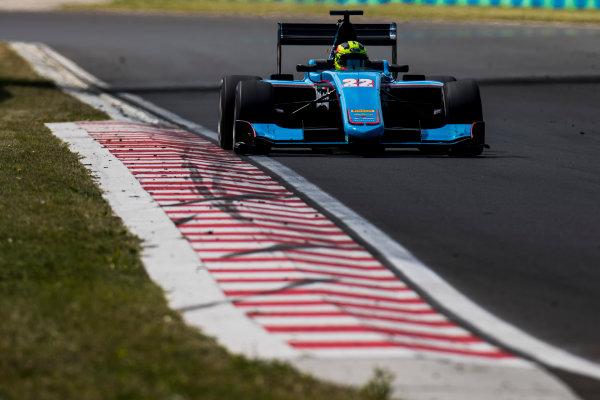 2017 GP3 Series Test 4.  Hungaroring, Budapest, Hungary. Wednesday 7 June 2017. Alessio Lorandi (ITA, Jenzer Motorsport)  Photo: Zak Mauger/GP3 Series Media Service. ref: Digital Image _56I2180
