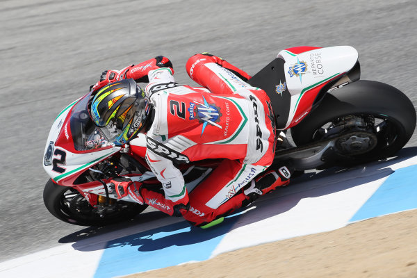 2017 Superbike World Championship - Round 8 Laguna Seca, USA. Friday 7 July 2017 Leon Camier, MV Agusta World Copyright: Gold and Goose/LAT Images ref: Digital Image 683069