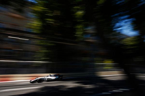 Baku City Circuit, Baku, Azerbaijan. Saturday 24 June 2017. Lance Stroll, Williams FW40 Mercedes.  World Copyright: Andy Hone/LAT Images ref: Digital Image _ONY0111