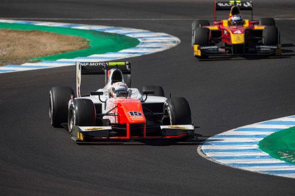 2017 FIA Formula 2 Round 10. Circuito de Jerez, Jerez, Spain. Saturday 7 October 2017. Jordan King (GBR, MP Motorsport).  Photo: Andrew Ferraro/FIA Formula 2. ref: Digital Image _FER1626