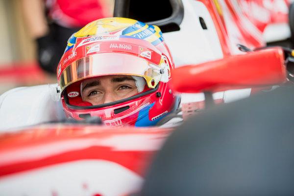 2017 FIA Formula 2 Round 11. Yas Marina Circuit, Abu Dhabi, United Arab Emirates. Friday 24 November 2017.Charles Leclerc (MCO, PREMA Racing).  Photo: Zak Mauger/FIA Formula 2. ref: Digital Image _56I9890