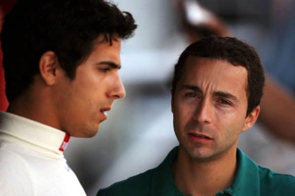 Nicolas Todt (FRA) Driver Manager (Right).GP2 Series, Rd 2, Race 2, Barcelona, Spain, Sunday 13 May 2007.DIGITAL IMAGE