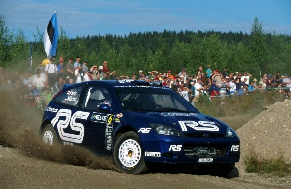 Markko Martin (EST) Ford Focus RS WRC.