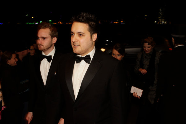 2013 Autosport Awards. Grosvenor House Hotel, Park Lane, London. Sunday 1st December 2013. Guests arrive at the awards. World Copyright: Sam Bloxham/LAT Photographic. ref: Digital Image _LOX6225