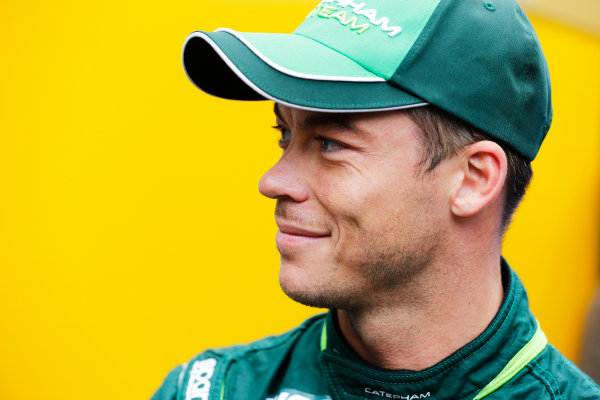 Spa-Francorchamps, Spa, Belgium. Thursday 21 August 2014. Andre Lotterer, Caterham F1. World Copyright: Steven Tee/LAT Photographic. ref: Digital Image _L4R0558