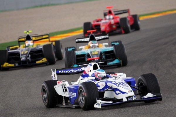 Christian Bakkerud (DEN) DPR  GP2 Series, Rd 11, Race One, Valencia, Spain, Saturday 29 September 2007.