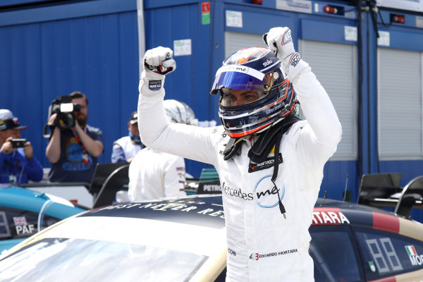 Race winner Edoardo Mortara, Mercedes-AMG Team HWA.