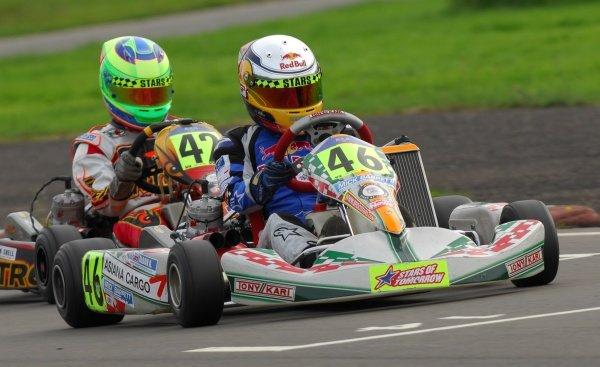 Alex Albon (GBR),  Formula KF3 Championship, BRDC Stars of Tomorrow, Shenington, England, 13-14 September 2008.
