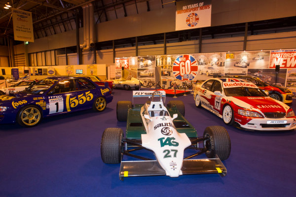Autosport International Exhibition. National Exhibition Centre, Birmingham, UK. Thursday 8 January 2015. The Williams FW06 of Alan Jones on the Motorsport News stand. World Copyright: LAT Photographic. ref: Digital Image EL0G1847