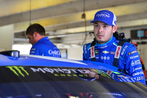 2017 Monster Energy NASCAR Cup Series O'Reilly Auto Parts 500 Texas Motor Speedway, Fort Worth, TX USA Friday 7 April 2017 Kyle Larson World Copyright: Logan Whitton/LAT Images ref: Digital Image 17TEX1LW0081