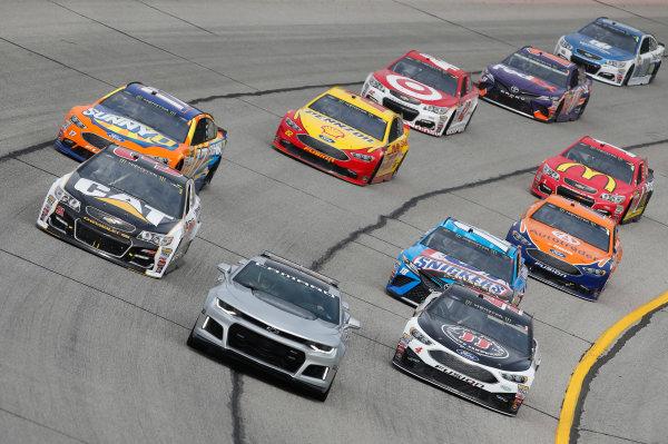 2017 Monster Energy NASCAR Cup Series - Fold of Honor QuikTrip 500 Atlanta Motor Speedway, Hampton, GA USA Sunday 5 March 2017 Kevin Harvick Ryan Newman World Copyright: Matthew T. Thacker/LAT Images ref: Digital Image 17ATL1mt1558