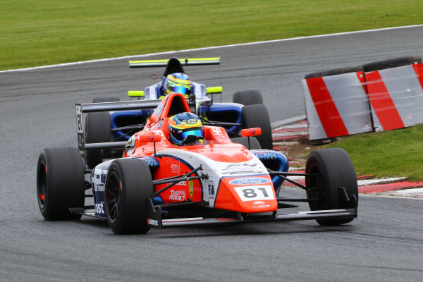 2017 British F4 Championship Oulton Park, 20th-21st May 2017, Oscar Piastri (AUS) TRS Arden British F4 World copyright. JEP/LAT Images