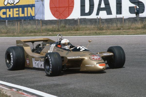 Zandvoort, Holland. 24 - 26 August 1979. Jochen Mass, Arrows A2 Ford, 6th position. Ref: 79HOL07. World Copyright: LAT Photographic