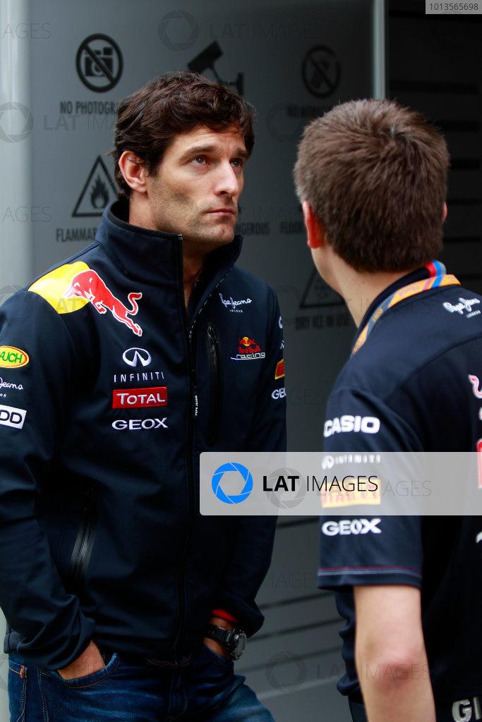 Albert Park, Melbourne, Australia24th March 2011.Mark Webber, Red Bull Racing RB7 Renault.World Copyright: Charles Coates/LAT Photographicref: Digital Image _X5J5559
