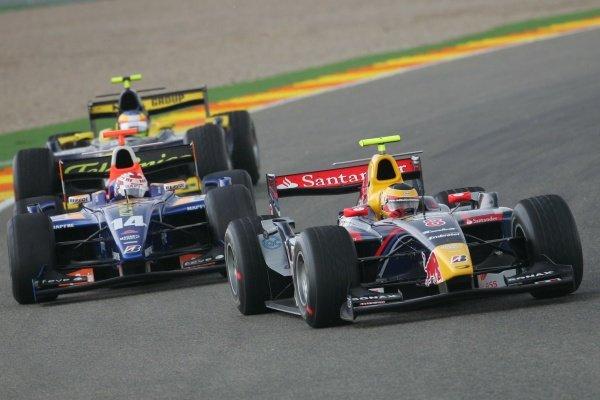 Philipe Albuquerque (POR) Arden International  GP2 Series, Rd 11, Race One, Valencia, Spain, Saturday 29 September 2007.