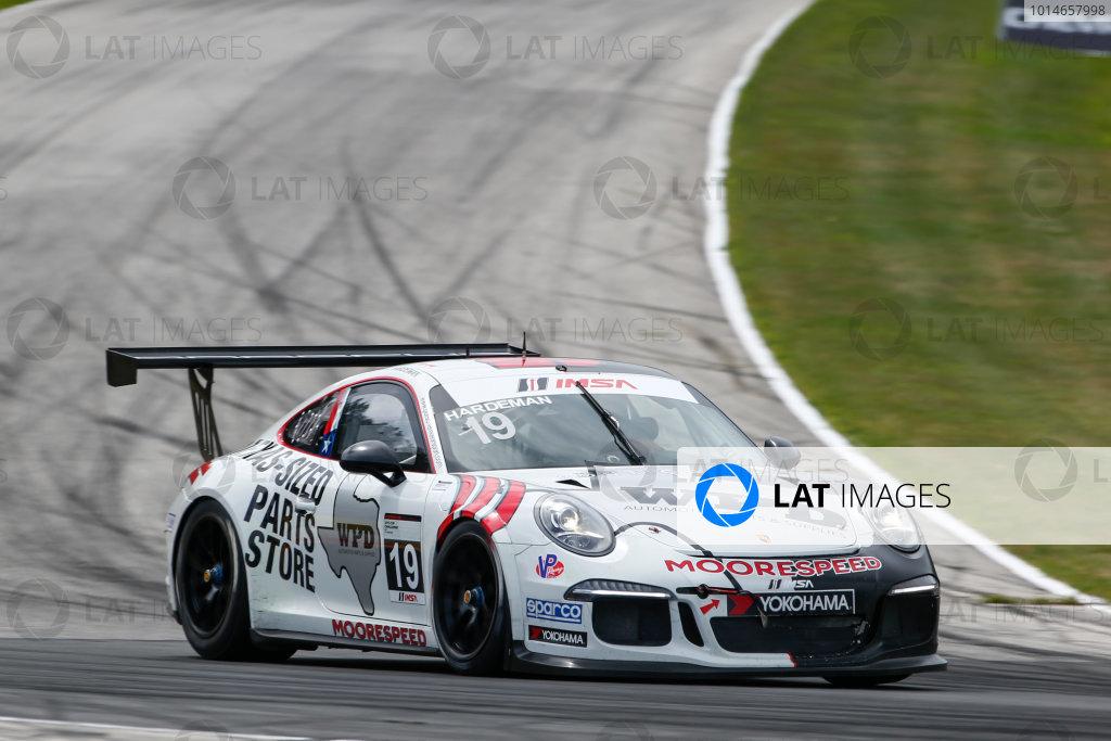 5-7 August 2016, Elkhart Lake, Wisconsin USA 19, Will Hardeman, Platinum, 2016 Porsche ?2016, Jake Galstad LAT Photo USA