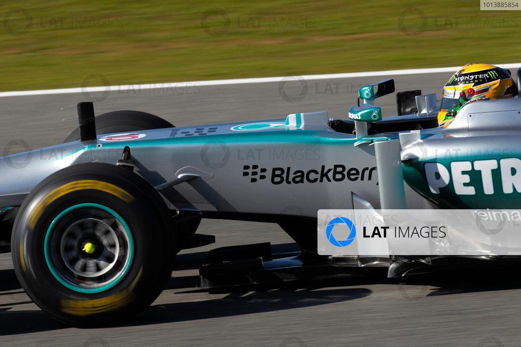 Mercedes AMG W04 Launch