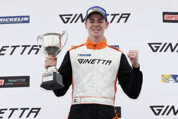 2017 Ginetta Junior Championship, Silverstone, Northants, UK. 16th-17th September 2017 Tom Gamble Elite Motorsport Ginetta Junior World copyright. JEP/LAT Images