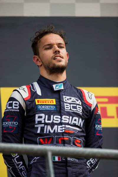 2017 FIA Formula 2 Round 8. Spa-Francorchamps, Spa, Belgium. Sunday 27 August 2017. Luca Ghiotto (ITA, RUSSIAN TIME).  Photo: Zak Mauger/FIA Formula 2. ref: Digital Image _54I3183