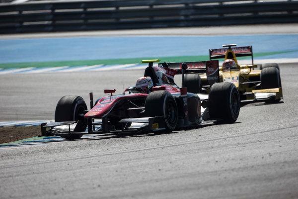 2017 FIA Formula 2 Round 10. Circuito de Jerez, Jerez, Spain. Sunday 8 October 2017. Alexander Albon (THA, ART Grand Prix).  Photo: Andrew Ferraro/FIA Formula 2. ref: Digital Image _FER3423