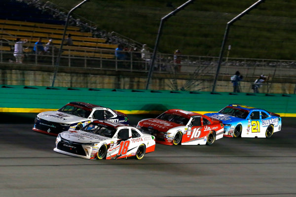 NASCAR XFINITY Series VisitMyrtleBeach.com 300 Kentucky Speedway Sparta, KY USA Saturday 23 September 2017 Kyle Benjamin, Hurricane Relief Toyota Camry and William Byron, Liberty University Chevrolet Camaro World Copyright: Russell LaBounty LAT Images
