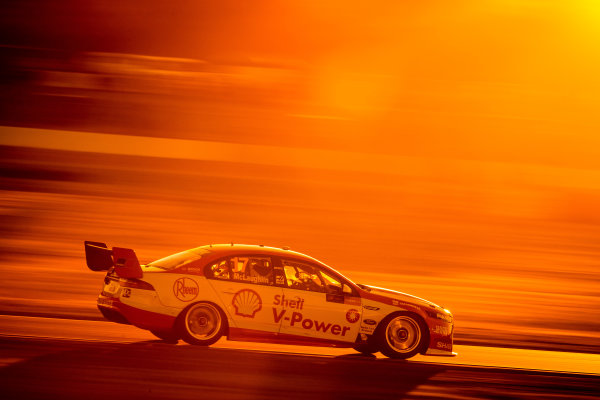 2017 Supercars Championship Round 8.  Ipswich SuperSprint, Queensland Raceway, Queensland, Australia. Friday 28th July to Sunday 30th July 2017. Scott McLaughlin, Team Penske Ford.  World Copyright: Daniel Kalisz/ LAT Images Ref: Digital Image 290717_VASCR8_DKIMG_10532.jpg