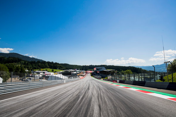 2017 FIA Formula 2 Round 5. Red Bull Ring, Spielberg, Austria. Thursday 6 July 2017. A view of the track. Photo: Zak Mauger/FIA Formula 2. ref: Digital Image _56I9991