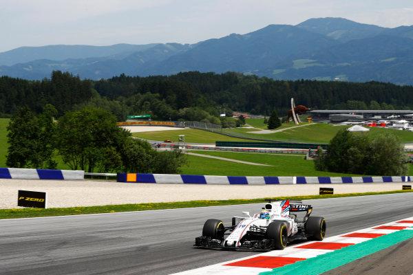 Red Bull Ring, Spielberg, Austria. Sunday 09 July 2017. Felipe Massa, Williams FW40 Mercedes. World Copyright: Steven Tee/LAT Images ref: Digital Image _R3I7955
