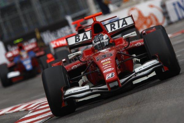 2008 GP2 Series. Round 3. Saturday Race. Monte-Carlo, Monaco. 24th May 2008.Adrian Valles (ESP, BCN Competicion). Action.  World Copyright: Andrew Ferraro/GP2 Series Media Service.ref:__H0Y6300 jpg
